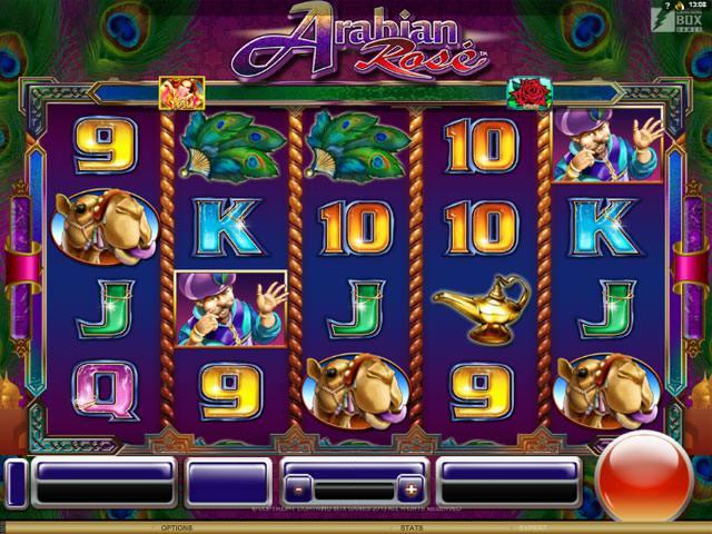 Arabian Rose Slot bonus