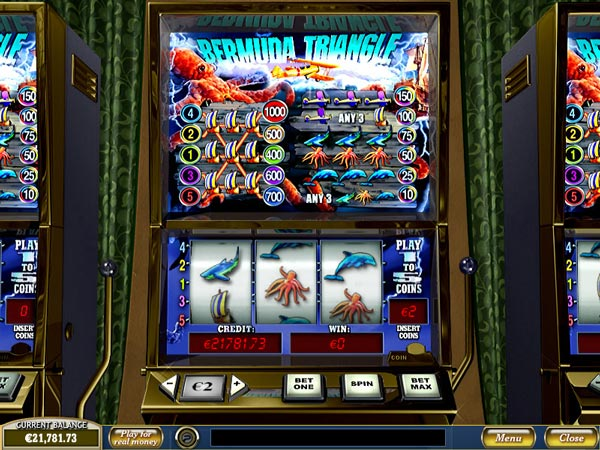 Bermuda Triangle Slot bonus