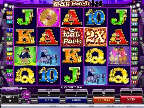 The Rat Pack Slot bonus review jackpot