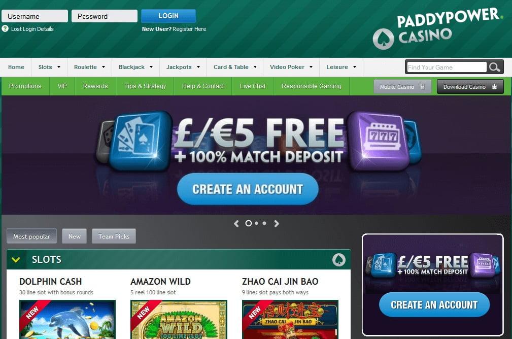 PaddyPower freespins no deposit bonus